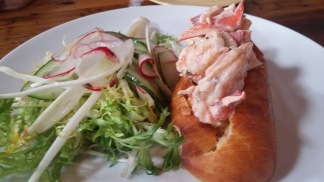 Shrimp and Lobster Roll